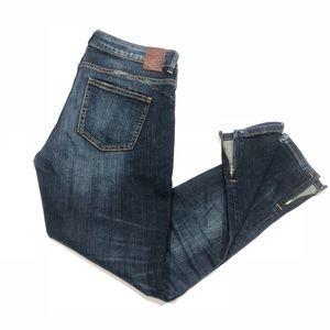 💙 Zara skinny jeans with zippers on bottom 6